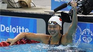 Bảng vàng thành tích của Ánh Viên tại SEA Games 2015: 8 huy chương vàng, 8 kỷ lục