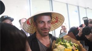 Alex Del Piero lần đầu tiên đặt chân đến Việt Nam