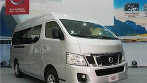 Nissan Việt Nam nhập minibus NV350 Urvan nguyên chiếc từ Nhật Bản