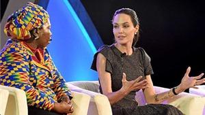 Angelina Jolie: Ở vùng xung đột, phụ nữ và bé gái đang chịu sự đối xử dã man