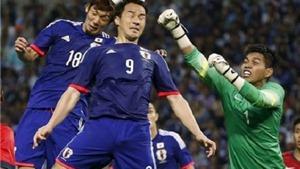Thủ môn chơi như lên đồng, Singapore cầm hòa Nhật Bản 0-0
