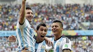 Khi người Argentina đang yêu Messi