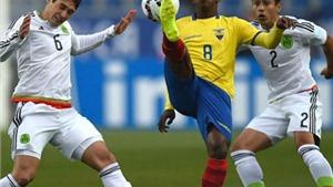 Mexico 1-2 Ecuador: Mexico chính thức bị loại, Ecuador vẫn phải chờ