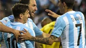 Argentina 1-0 Jamaica: Higuain tỏa sáng, Argentina đi tiếp với vị trí nhất bảng B