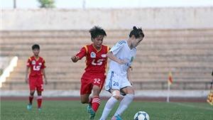 Lượt về giải bóng đá nữ VĐQG – Thái Sơn Bắc 2015: So kè nhau ở vạch đích