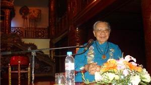 Giáo sư Trần Văn Khê có nhiều đóng góp lớn trong việc bảo tồn Nhã nhạc cung đình Huế