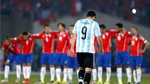 Khi thất bại đã trở thành thói quen của Argentina