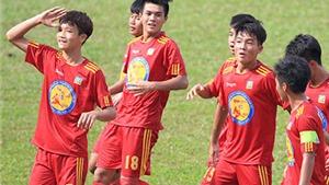 Bán kết U17 Quốc Gia 2015: PVF và Viettel thắng 'hủy diệt'