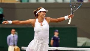 Muguruza làm nên lịch sử, gặp Serena Williams ở Chung kết Wimbledon 2015