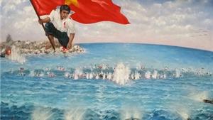 Bức tranh 'Gạc Ma – Vòng tròn bất tử' được cụ ông, cụ bà 88 tuổi trả 730 triệu đồng