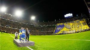 Hơn 49 nghìn CĐV Boca Juniors chào đón Carlos Tevez trở về