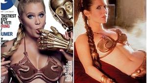 Danh hài Mỹ gây bão vì mặc bikini kim loại khêu gợi giống 'Star Wars'