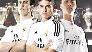 Ronaldo, Bale, Rodrguez giúp Real Madrid kiếm tiền như thế nào?