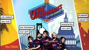 Lịch thi đấu giao hữu mùa Hè của Barca