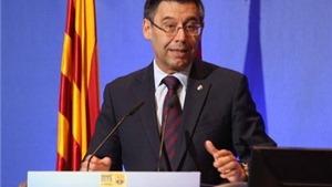Bartomeu nói gì trong ngày tái đắc cử Chủ tịch Barca?