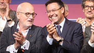 Chủ tịch Josep Bartomeu muốn làm việc cùng với 3 huyền thoại của Barcelona