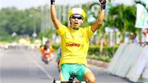 Giải xe đạp nữ toàn quốc mở rộng – Cúp Truyền hình An Giang 2015: Nguyễn Thị Thật mất Áo vàng