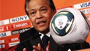 Chủ tịch Liên đoàn bóng đá Thái Lan bị kết án tù 16 tháng