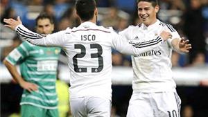 Isco và vị trí chính thức ở Real: Phải đánh bật được James Rodriguez!