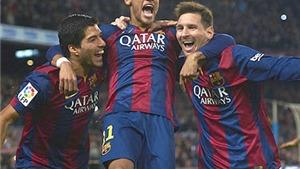Bộ ba Messi - Suarez - Neymar đủ sức ghi bao nhiêu bàn?