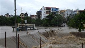 Quảng Ninh: Mưa kéo dài nhưng lượng mưa đã giảm, trung tâm TP Uông Bí ngập sâu