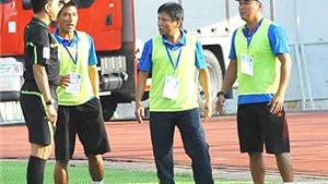 HLV S.Khánh Hòa thừa nhận sai khi phản ứng trọng tài