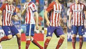 Điểm tựa cho Atletico: Chờ 'ngũ hổ tướng' của Simeone