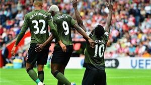Southampton 0-3 Everton: Ngày rực sáng của Lukaku
