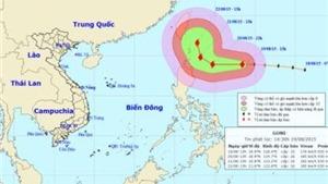 Bão GONI giật trên cấp 17 đe dọa Philippines