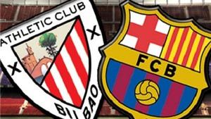 Link truyền hình trực tiếp và sopcast trận Athletic Bilbao - Barca (23h30, 23/8)