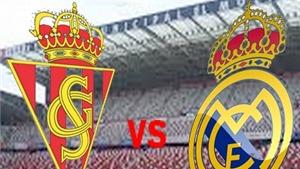 Link truyền hình trực tiếp và sopcast trận Sporting Gijon - Real Madrid (1h30,24/8)