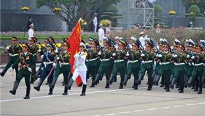 Hà Nội: Cấm 40 tuyến đường phố phục vụ diễu binh, diễu hành
