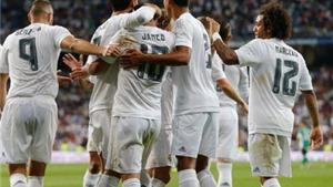 Doanh thu của Real Madrid vẫn tăng dù thất bại trên sân cỏ ở mùa 2014-15