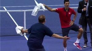 VIDEO: Novak Djokovic 'nhảy ngựa' ăn mừng chiến thắng