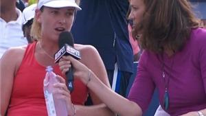 Chuyện trả lời phỏng vấn giữa trận đấu ở US Open: Bước tiến hay sự phá hoại?