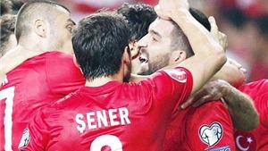 Thổ Nhĩ Kỳ 3-0 Hà Lan: Tiếp tục thua tan tác, Hà Lan sắp phải làm khán giả EURO 2016