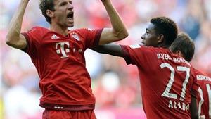 Bayern 2-1 Augsburg: Chiến thắng nghẹt thở của Bayern