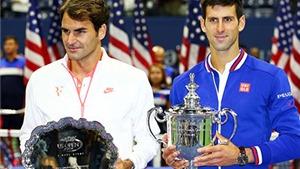 Djokovic và Federer hết lời ca ngợi nhau sau trận chung kết US Open