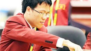 Vòng 3 World Cup cờ vua 2015: Quang Liêm thủ hòa kỳ thủ hạng 10 thế giới