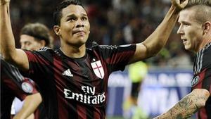 Milan 3-2 Palermo: Tân binh Bacca lập cú đúp, Milan nhọc nhằn giành 3 điểm