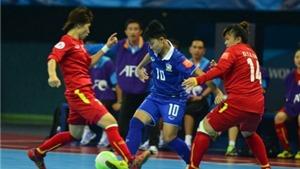 Thua Thái Lan 1-2, tuyển nữ Việt Nam bị loại