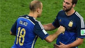 Higuain bị gạch tên khỏi danh sách triệu tập của đội tuyển Argentina