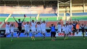 Tuyển nữ Việt Nam và giấc mơ Olympic