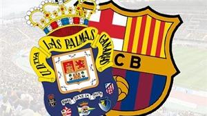Link truyền hình trực tiếp và sopcast trận Barca - Las Palmas (21h00, 26/9)