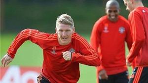 CẬP NHẬT tin tối 30/9: Khedira đá chính trước Sevilla. Schweinsteiger: 'United có thể vô địch Champions League'