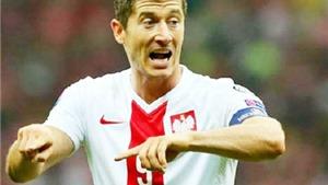 Robert Lewandowski ghi 14 bàn sau 5 trận, khiến Scotland bị loại