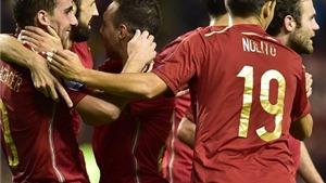 Cục diện vòng loại EURO 2016:  Thêm Thụy Sĩ và Tây Ban Nha giành vé