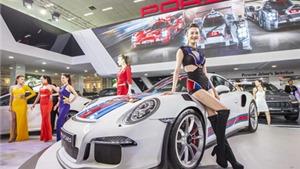 Nóng bỏng với dàn xe thể thao Porsche tại Triển lãm ô tô quốc tế Việt Nam 2015
