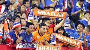 Dù ít, CĐV Thái Lan vẫn quá 'chất'!