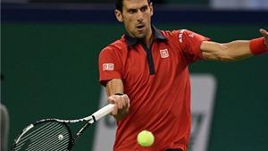 Djokovic vẫn chưa thua set nào trên đường tới Chung kết Thượng Hải Masters